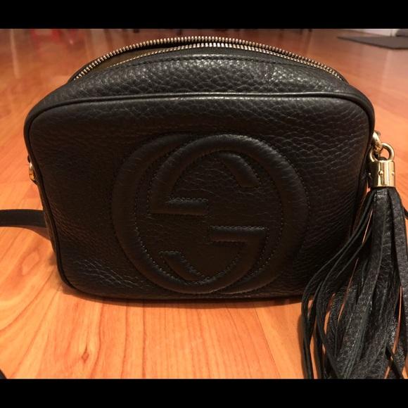16158907a3c Gucci Handbags - Gucci soHo disco bag black